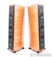 Sonus Faber Cremona Floorstanding Speakers; Maple Pair - The Music Room