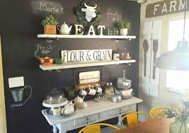 Kitchen Chalkboard Wall Farm Kitchen Chalkboard Wall And Chalk Painted Table Youtube