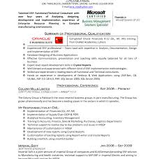 Cover Letter For Functional Resume Best of Typical Erp Resume Sample Consultant Cover Letter Www Fungra Create