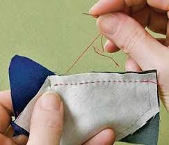 78 best images about hand quilting on Pinterest | Sewing projects ... & Free Hand Piecing Lesson for Quilters. Adamdwight.com