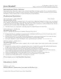 Law Enforcement Resume Objective Unique Law Enforcement Resume Objective Examples Police Officer Cover