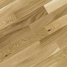 Ideas, new boxed bq natural oak real wood top layer flooring 203m pack  pertaining to