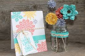 Paper Flower Punches Flower Patch Card And Paper Flower Bouquet Scrapping Stamping And