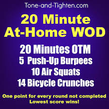 At Home Workout Plan Weekly Home Workout Plan 5 Minute Home Workouts ...