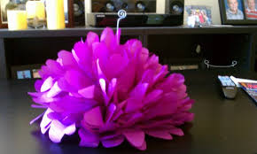 tissue paper flower centerpiece ideas what do you think of my diy tissue paper flower centerpiece