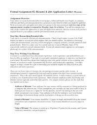 Resume For Applying A Job Resume Example For Applying Job Work
