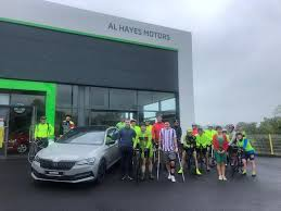 Paddy Kelly has begun his 2500 km cycle... - Al Hayes Motors Skoda |  Facebook