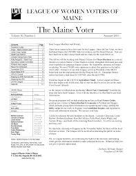 The Maine Voter
