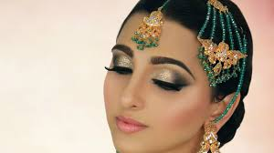 ivory smokey eye with glitter tradtional stani indian asian arabic bridal makeup tutorial mov on vimeo