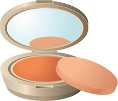 makeup powder clipart 1
