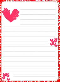 Valentines Day Letter Template Template Valentines Day Letter Templates