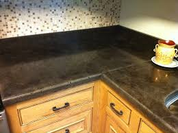 stained concrete countertops design