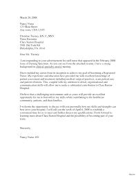 Rn Resume Cover Letter Nurse Resume Cover Letter lvcrelegant 26