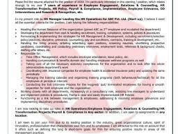 Hadoop Admin Job Description And Hr Sample Cover Letter Format