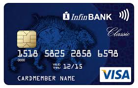 InfinBank — International VISA plastic cards