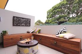 Small Picture storage benches for deck contemporary with outdoor ottoman