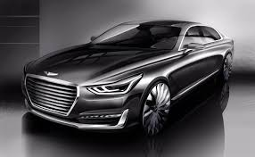 new car launches australiaNew Luxury Takes Shape  Hyundai Unveils Rendering of New G90