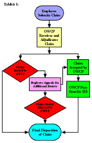 Workers Compensation Claim Process Flow Chart 1 Oig Audit Report 09 34