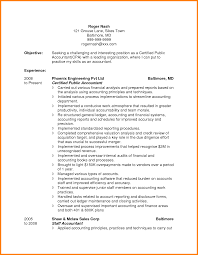 5 Accountant Resume Objective Professional Resume List