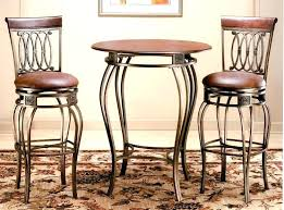 bistro set indoor awesome tall cafe table and chairs high top for decor 15