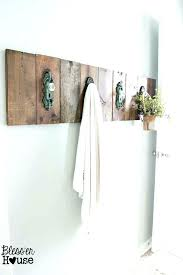 small towel rack bathroom wall best racks ideas on holder decorating and diy for