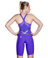 Speedo Lzr Elite Kneeskin Size Chart Speedo Fastskin Competition Shoe Lzr Racer X Closedback Kneeskin Violet Gold Woman