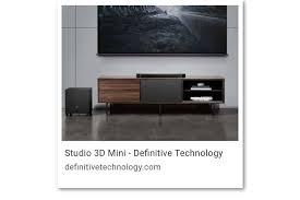 definitive technology studio 3d mini