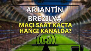 Copa America finali Arjantin Brezilya maçı saat kaçta hangi kanalda? Arjantin  Brezilya maçı şifresiz canlı izle