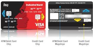 indusind bank duo card india s first
