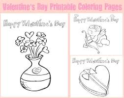 Valentines day coloring pages for kids. Valentine S Day Kids Printable Coloring Pages