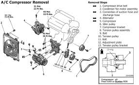 stealth 316 ac compressor replacement manual diagram for compressor removal