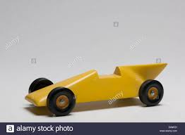 Pinewood Derby Nascar Designs Yellow Pinewood Derby Race Car Stock Photo 52103913 Alamy