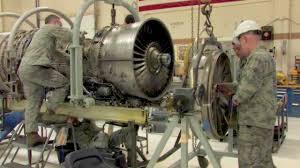 f 16 jet engine shop foreign object damage repair youtube turbine engine mechanic