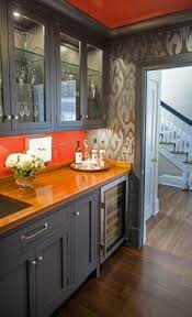 Editors' Picks: Our Favorite Colorful Kitchens. Orange WallsBurnt ...