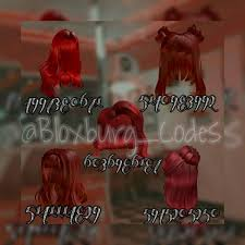 Maybe you would like to learn more about one of these? Redhead Hair Codes In 2021 Red Hair Roblox Roblox Codes Coding Clothes