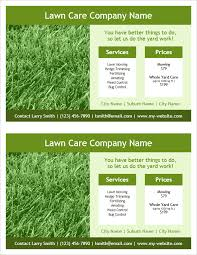 Lawn Care Brochure Lawn Care Flyer Template 2 Per Page By Vertex42 Com Flyers
