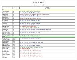 Sample Work Schedule For Employees Sample Schedules And Reports In Employee Scheduling Software
