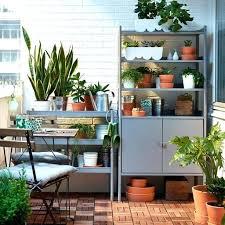 ikea uk garden furniture. balcony furniture ikea uk canada a small with grey shelving units that garden