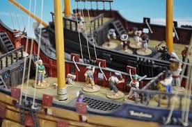 ainty s pirate ships in boarding action taken from ainsty newsletter december 2016