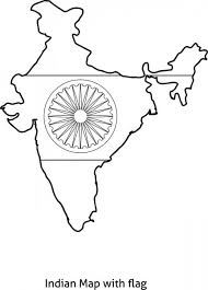 India Map Coloring Pages