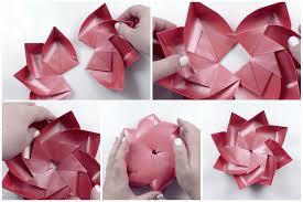 Paper Lotus Flower Modular Origami Lotus Flower