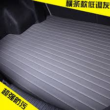 get ations free leather car trunk mat boot of the pad waterproof slip rug pad geely