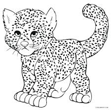 cheetah coloring pictures.  Coloring Awesome Cheetah Coloring Page Collection 12f  Pages Beautiful  To Pictures A