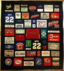 Best 25+ Sports quilts ideas on Pinterest | Jersey quilt, Top kids ... & I found this cool t-shirt quilt at Patchwork Memories. Want to do these Adamdwight.com
