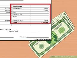 paycheck taxes calculator 2015 4 easy ways to calculate payroll taxes with pictures