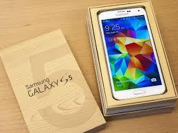 samsung galaxy s5 white box. you can grab a refurbished samsung galaxy s5 for $100 today only white box