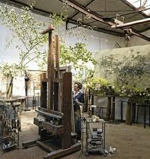 Claire Basler's Greenhouse Studio