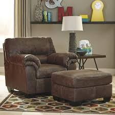 faux leather chair. Signature Design By Ashley Bladen Casual Faux Leather Chair \u0026 Ottoman 0