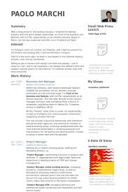 Business Unit Manager Resume Samples VisualCV Resume Samples Best Business Manager Resume