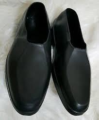 Totes Natural Rubber Dress Shoe Loafer Overshoe Galoshes Rain Boots Black Xlarge Ebay